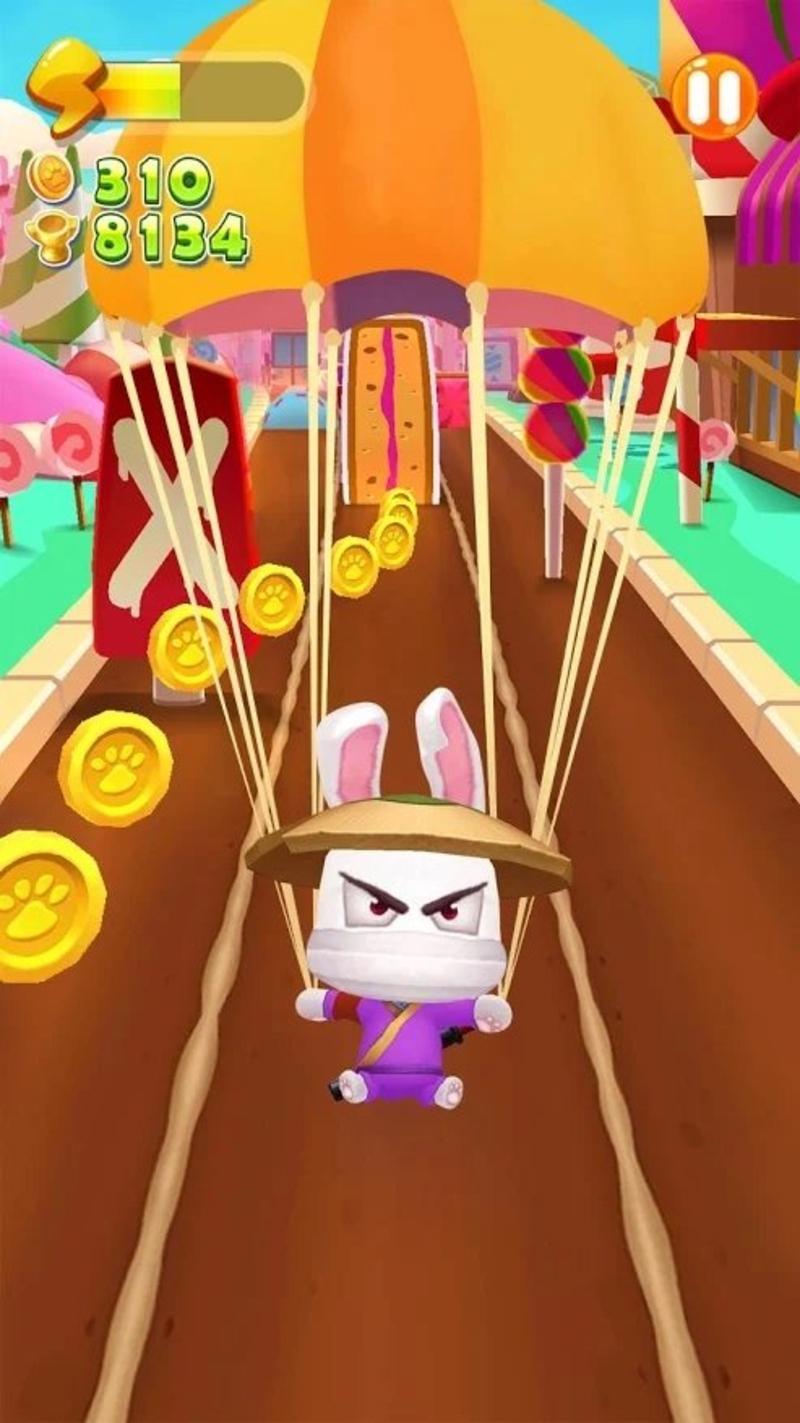 奔跑吧忍者游戏截图2