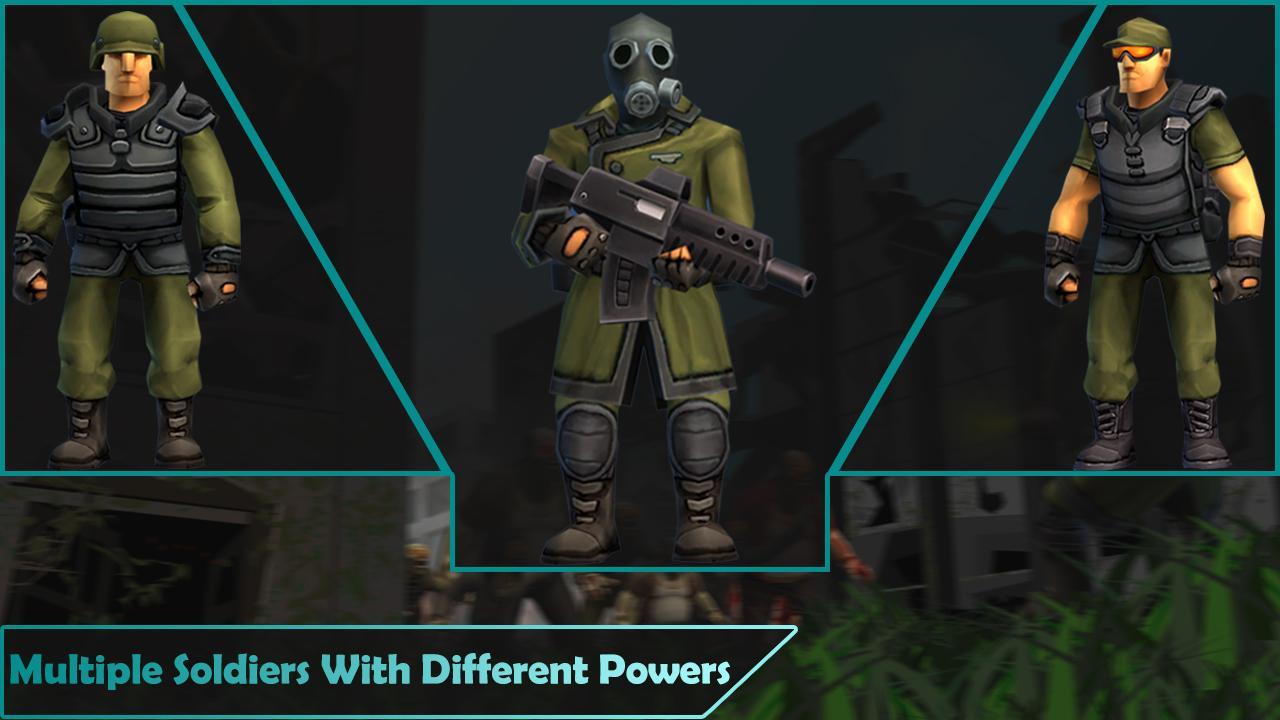 僵尸战争:精英士兵游戏截图3