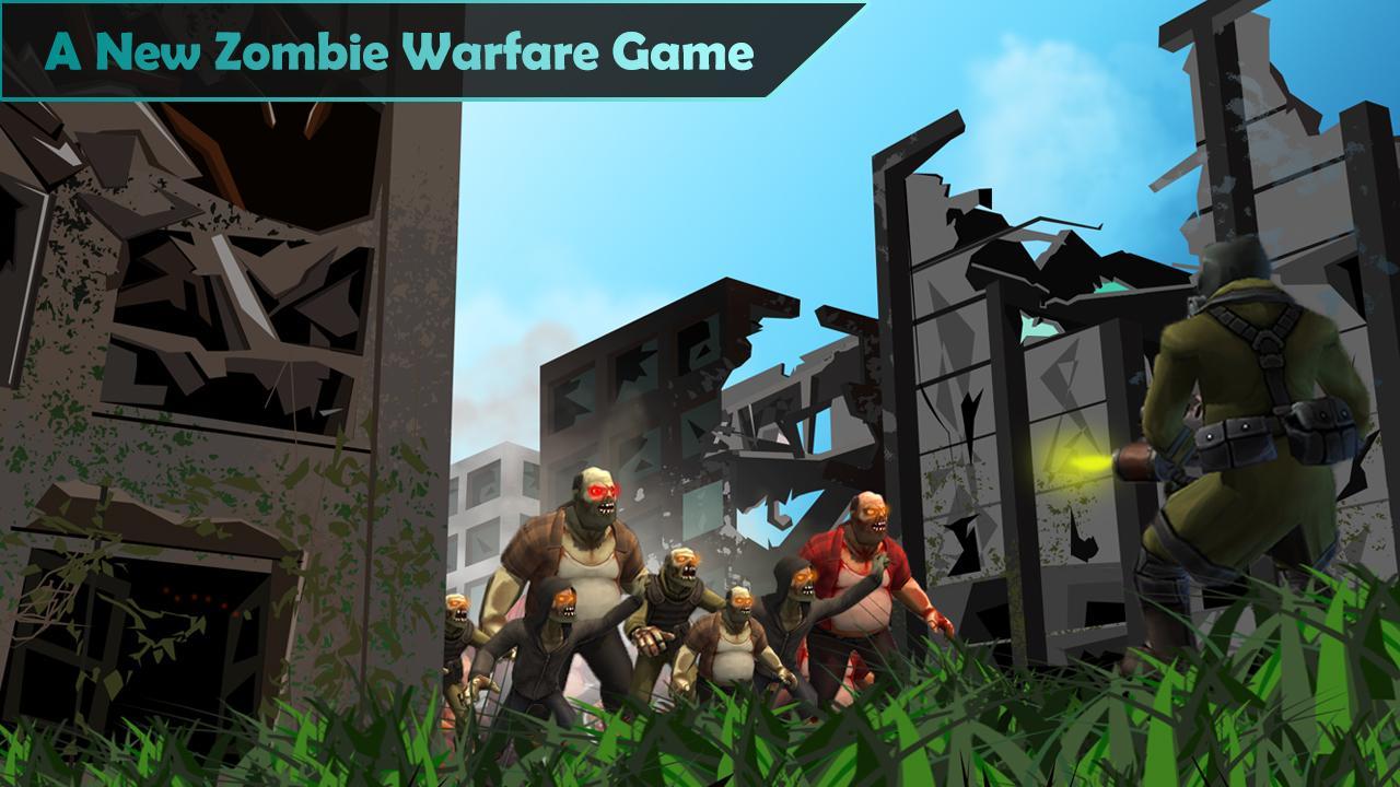 僵尸战争:精英士兵游戏截图1